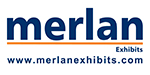 Merlan Exhibits logo